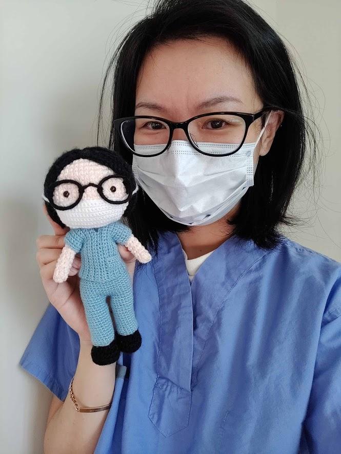 healthcare hero amigurumi crochet www.onceuponacheerio.com